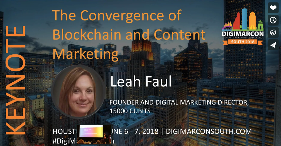 blockchain content marketing technology