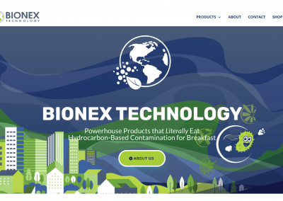 Bionex Technology Homepage Screen